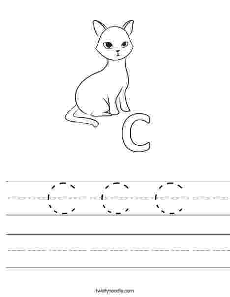 c is for cat worksheet letter c worksheets preschool alphabet printables c for is cat worksheet