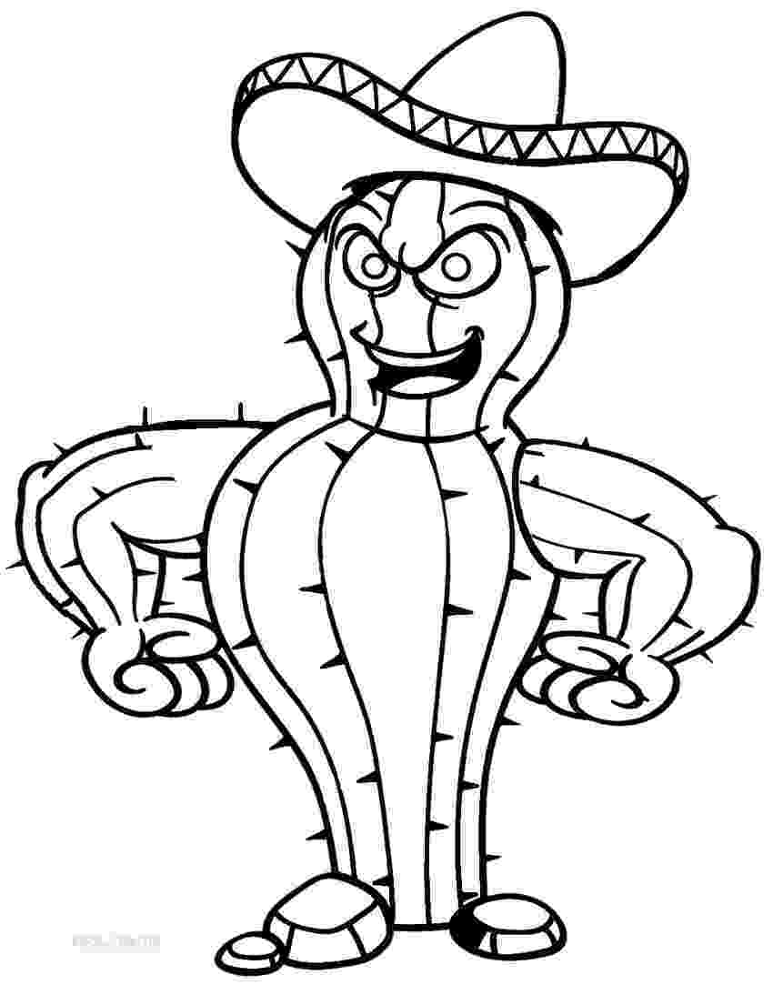 cactus pictures to color printable cactus coloring pages for kids cool2bkids pictures color cactus to 1 1