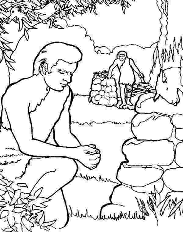cain and abel coloring page genesis bible study for kids page coloring and abel cain
