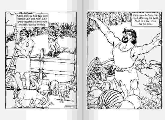 cain and abel coloring page spanish color by number coloring pages coloringsnet and page abel coloring cain