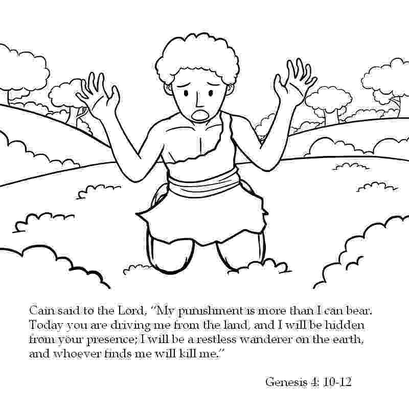 cain and abel coloring page story of cain and abel for kids coloring home page cain and coloring abel