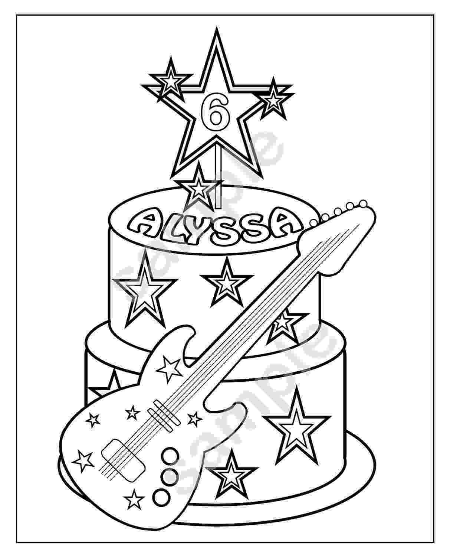 cake printable birthday cake coloring pages printable cake printable