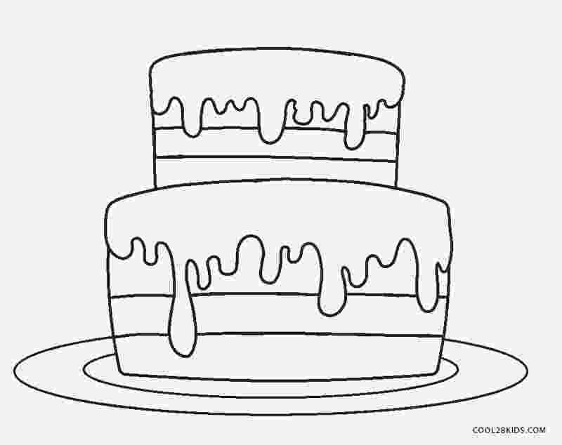 cake printable free printable birthday cake coloring pages for kids printable cake 1 2