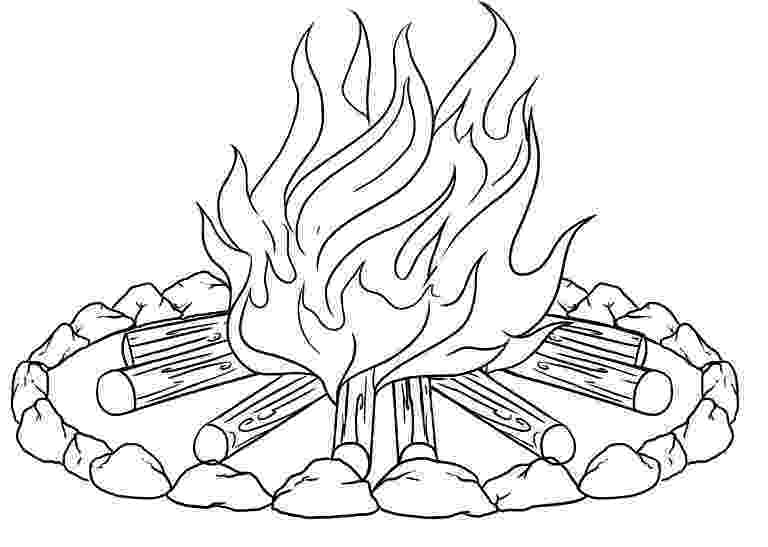campfire coloring page campfire coloring pages getcoloringpagescom campfire page coloring