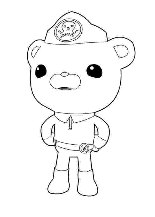captain barnacles coloring pages captain barnacles of the octonauts and megafon coloring barnacles captain coloring pages