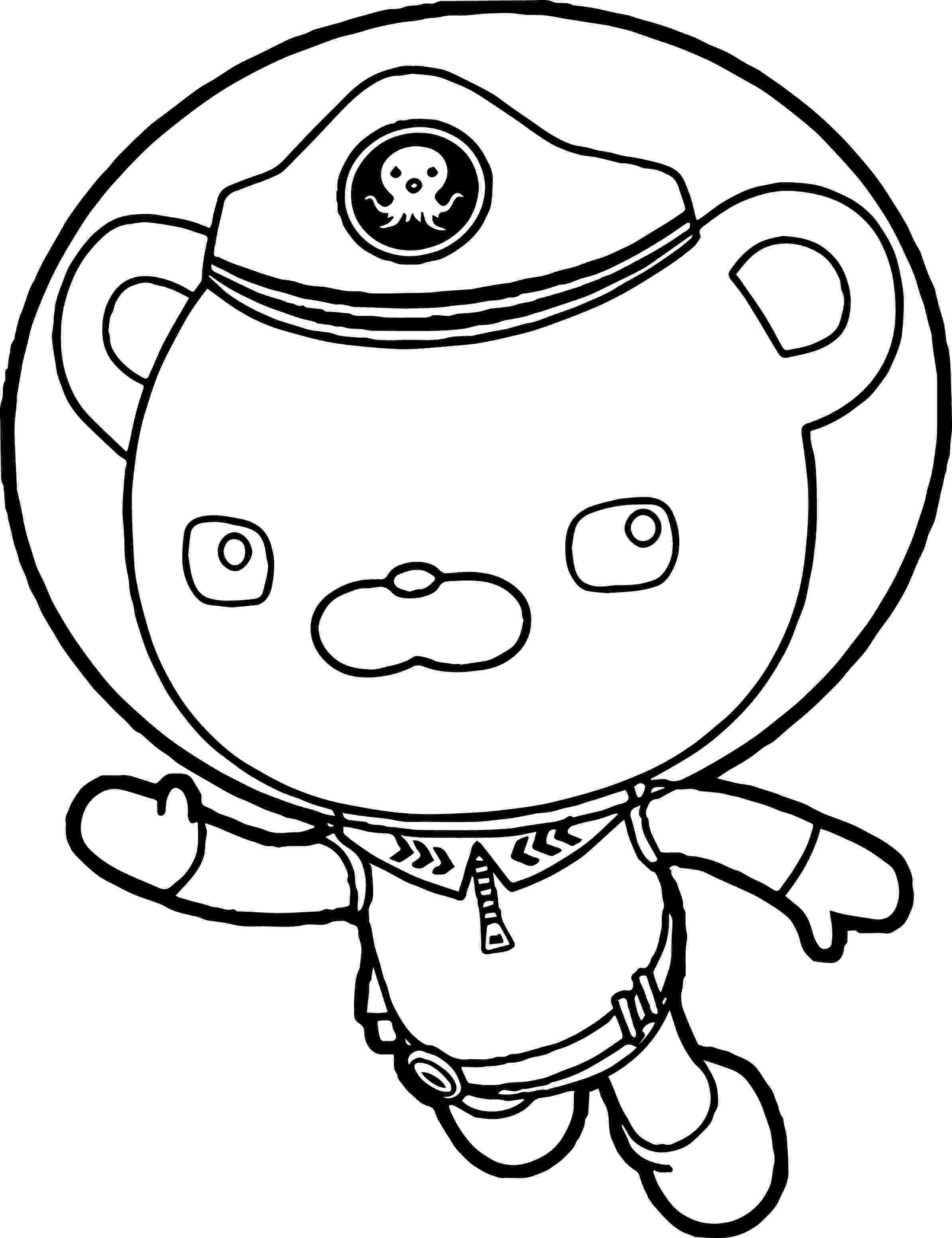 captain barnacles coloring pages captain barnacles playing accordion in the octonauts pages captain barnacles coloring