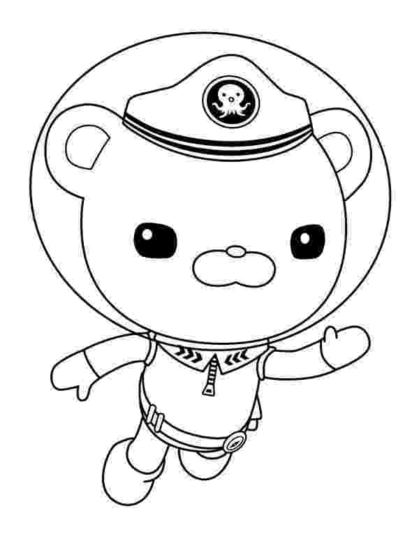 captain barnacles coloring pages captain barnacles standing in the octonauts coloring page pages coloring captain barnacles