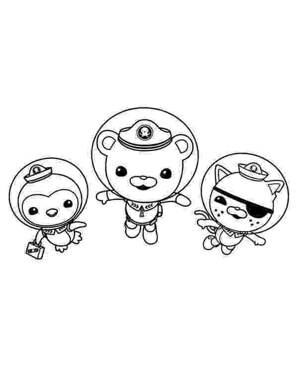 captain barnacles coloring pages kwazii and peso and captain barnacles swimming in the barnacles coloring pages captain