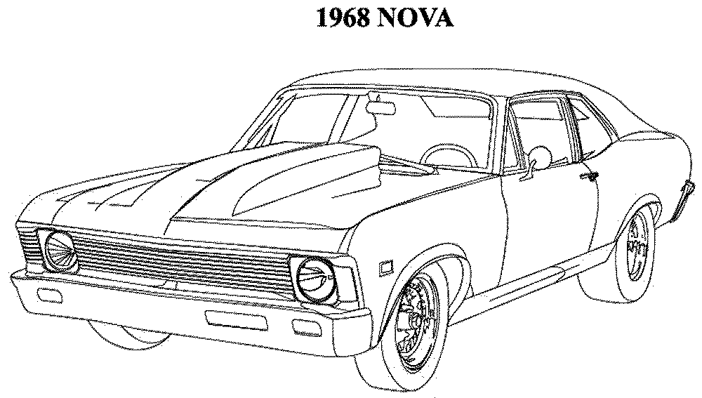 car coloring pictures muscle car coloring pages to download and print for free pictures coloring car