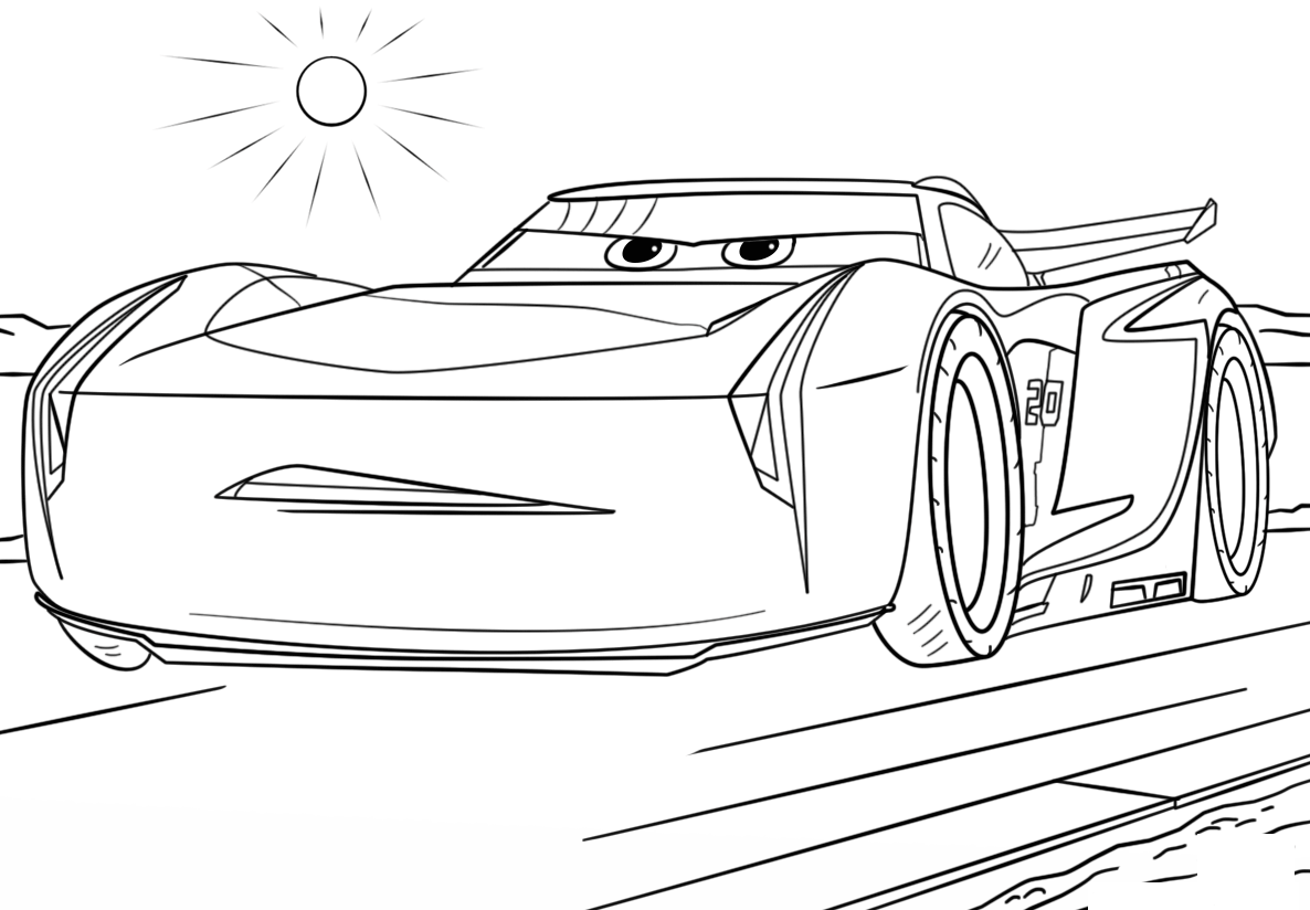 car picture to color cartoon cars coloring pages for kids gtgt disney coloring pages car to color picture