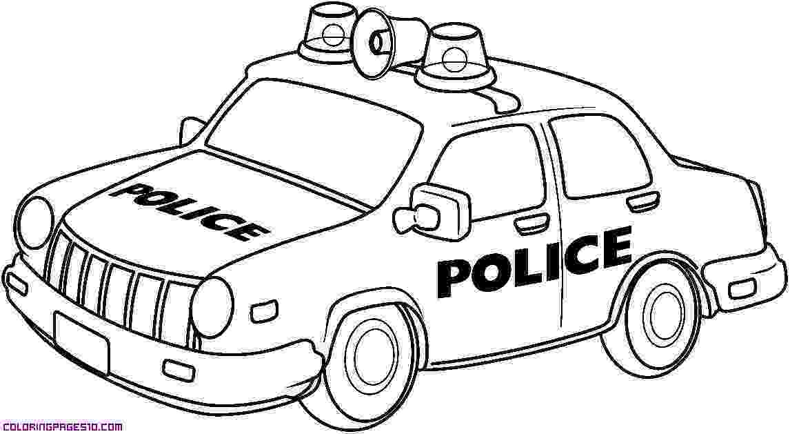 car picture to color free colouring pages of police cars download free clip car picture to color