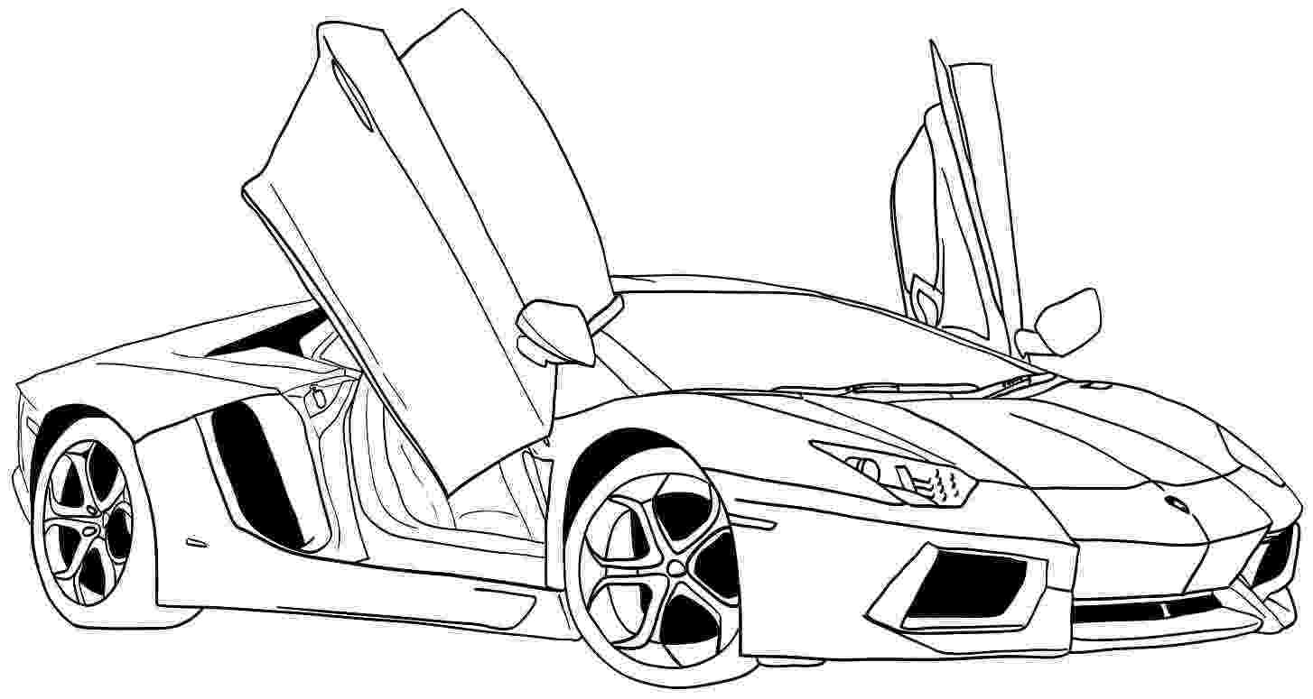car picture to color lamborghini coloring pages free download on clipartmag car color picture to