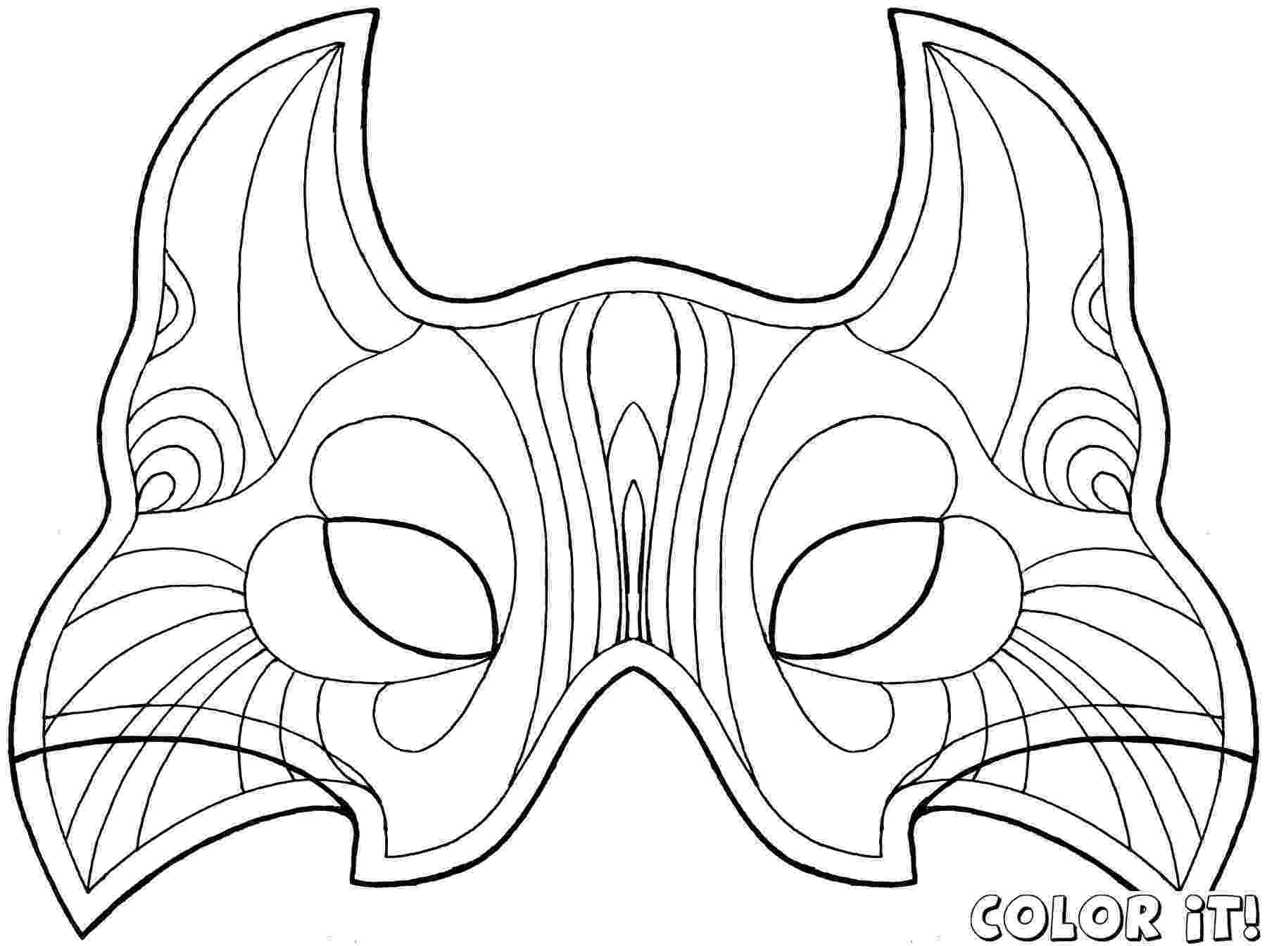 carnival mask coloring page carnival mask designs for coloring book for adult stock mask page carnival coloring
