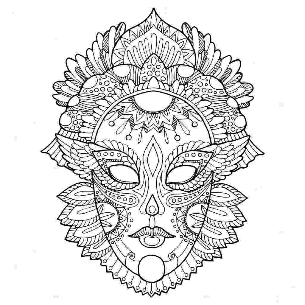 carnival mask coloring page carnival masks to colour coloring page mask carnival