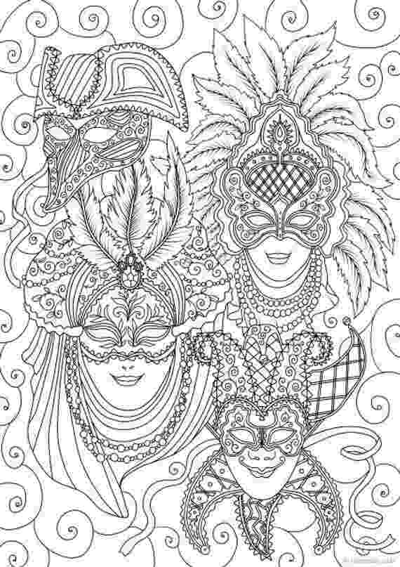 carnival mask coloring page coloring mask carnival coloring page mask carnival