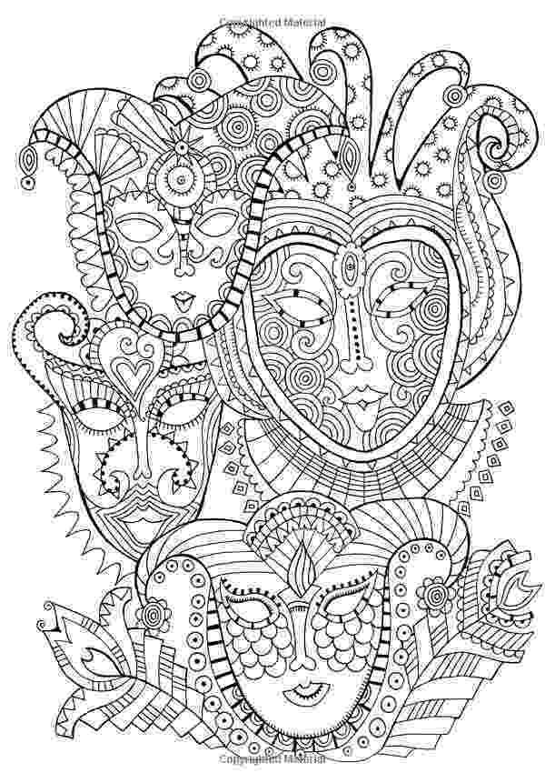 carnival mask coloring page maskfromvenice adult coloring pages coloring pages page carnival coloring mask