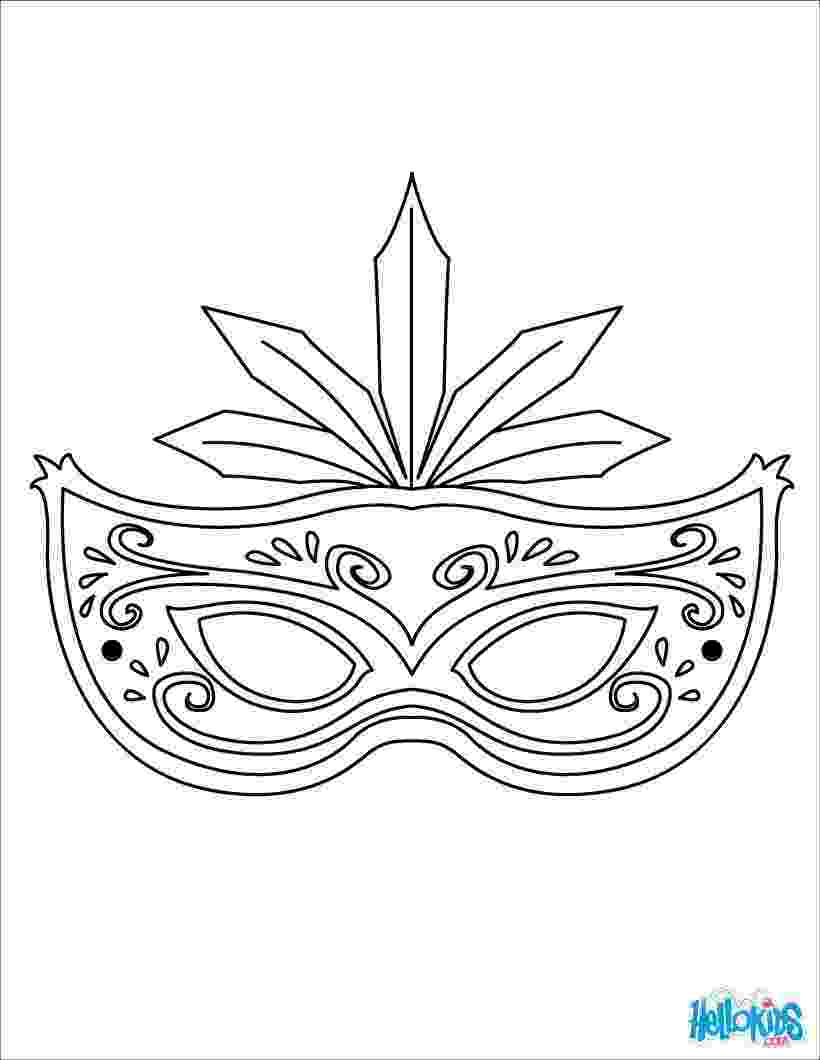 carnival mask coloring page masks coloring pages 9 online printable masks templates page carnival coloring mask
