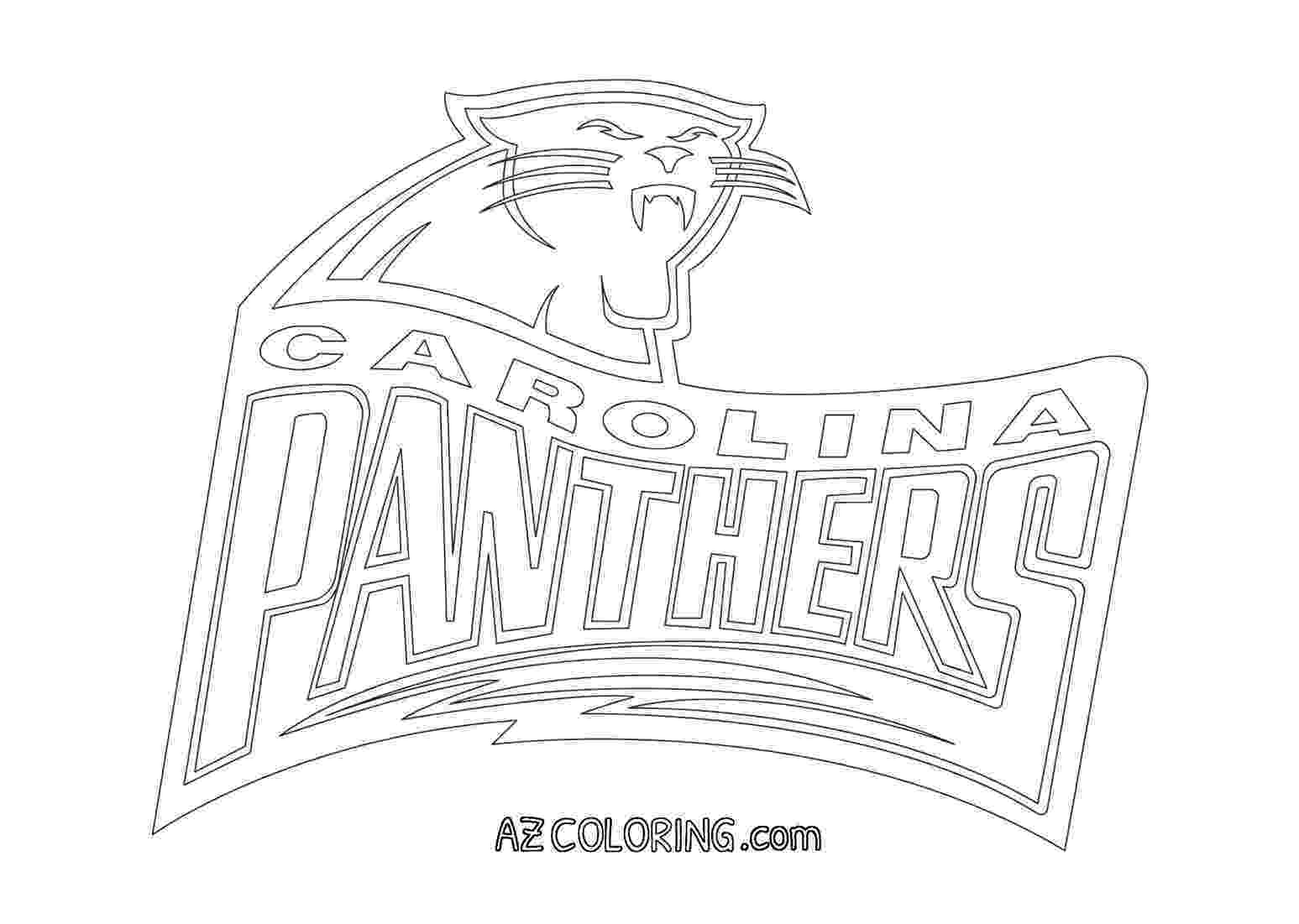 carolina panthers coloring pages carolina panthers silhouette at getdrawings free download pages carolina coloring panthers