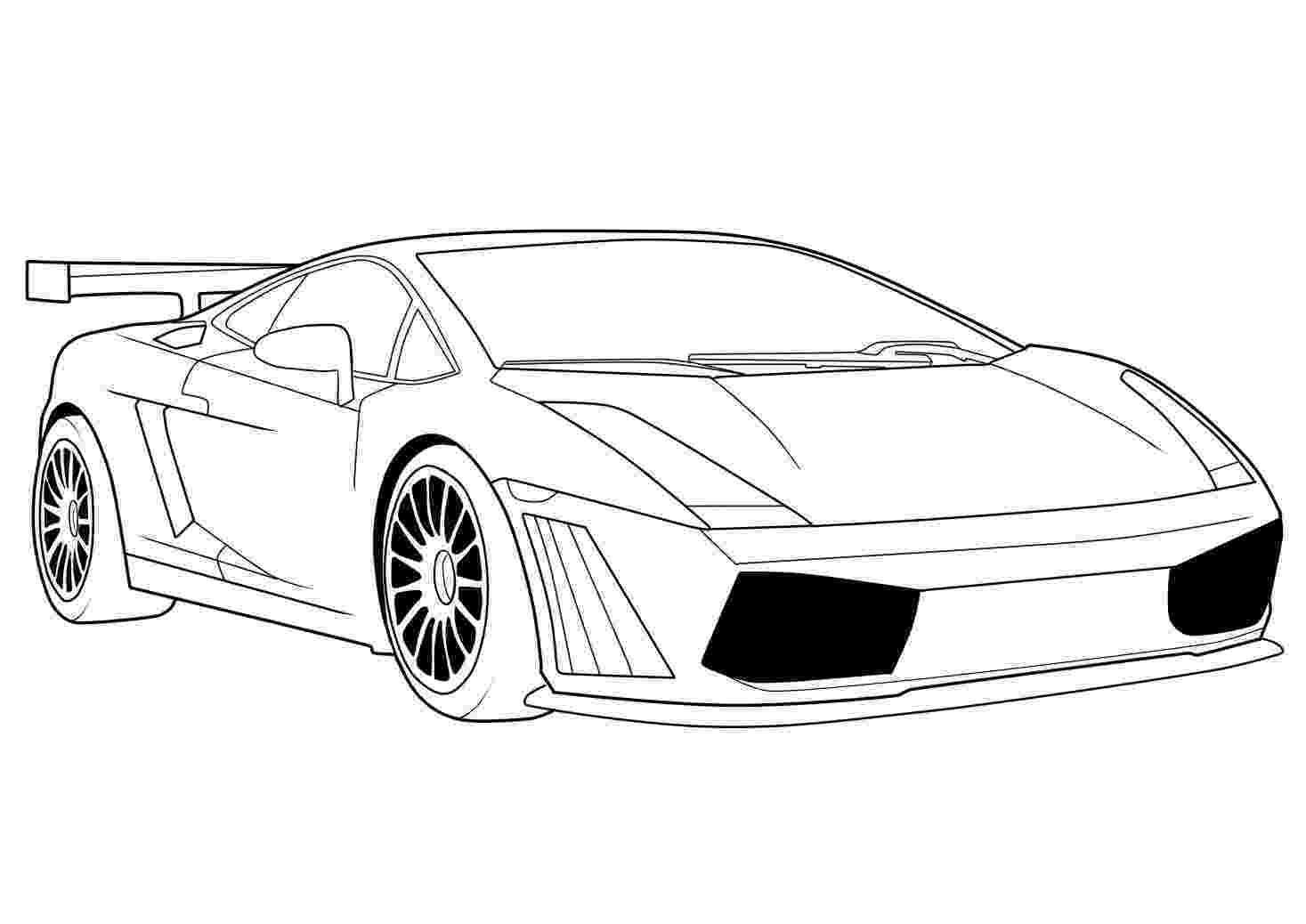 cars printable car coloring pages getcoloringpagescom printable cars