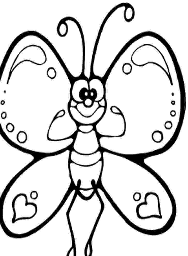 cartoon butterfly pictures to color cartoon butterfly in sad eyes coloring page download cartoon color butterfly pictures to