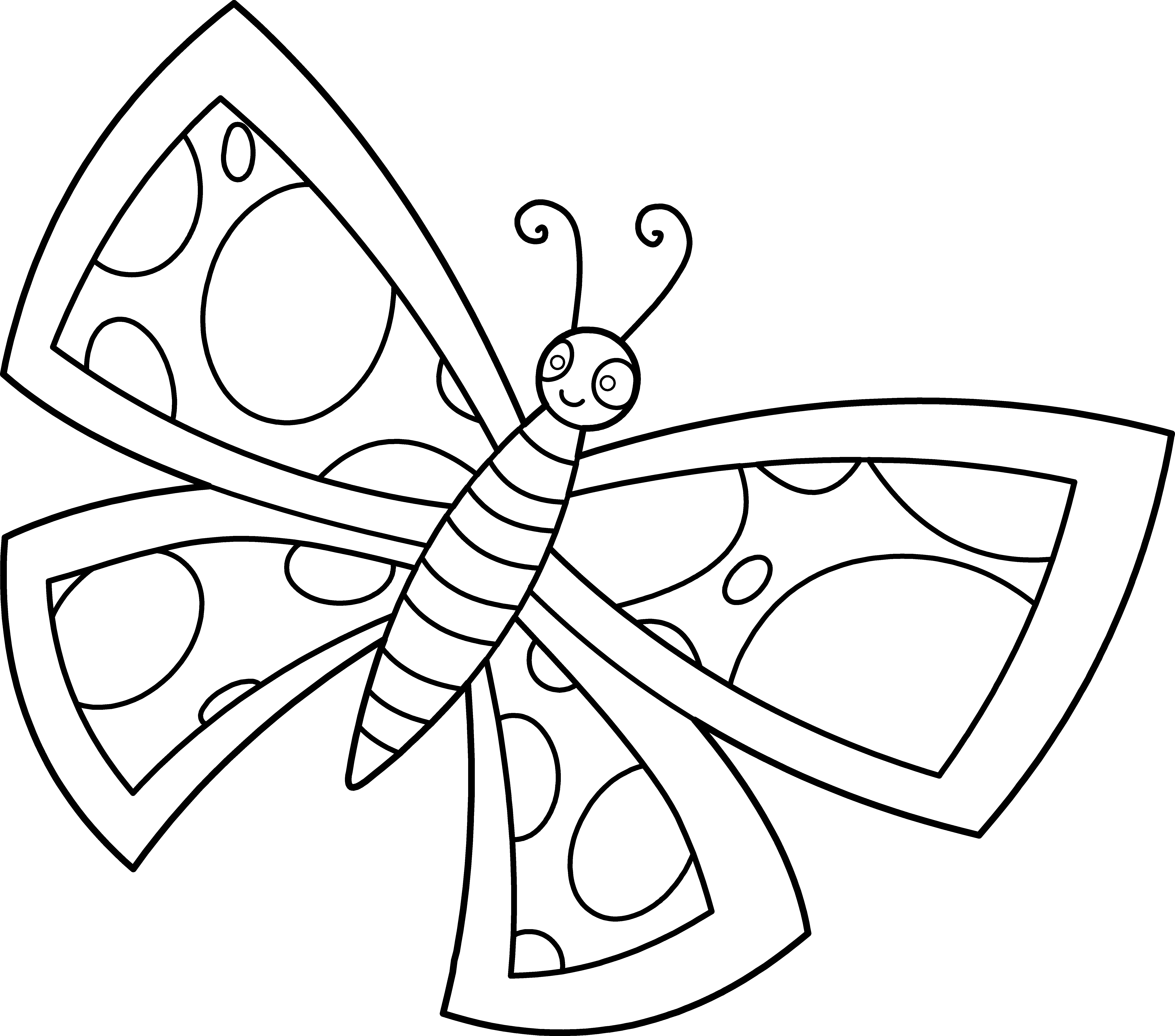 cartoon butterfly pictures to color simple butterfly coloring pages printables butterfly pictures cartoon color to butterfly