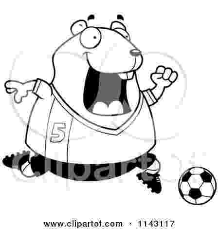 cartoon hamster cartoon clipart of a black and white chubby hamster hamster cartoon