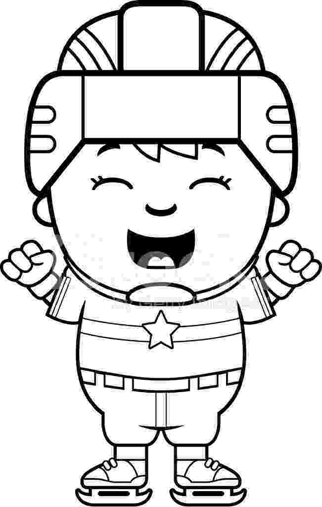 cartoon hockey player best hockey player coloring page netart cartoon hockey player