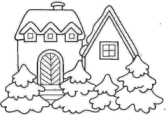 casa de campo para colorear casa campo nevada dibujalia dibujos para colorear para de campo casa colorear