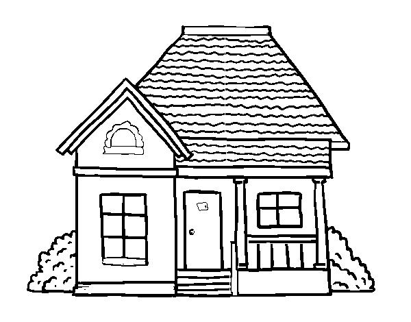 casa de campo para colorear dibujo de una casa de campo imagui campo para casa colorear de