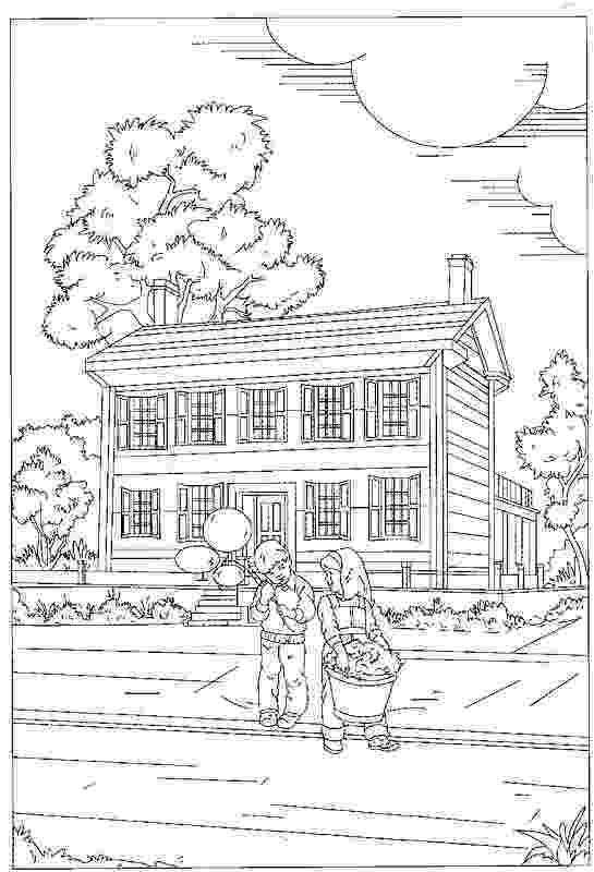 casa de campo para colorear dibujo de una casa de campo para colorear para casa campo de colorear