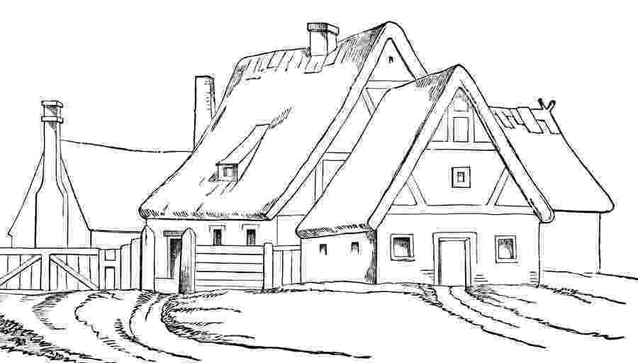 casa de campo para colorear dibujos de ríos para colorear y pintar imprimir dibujos colorear para de casa campo