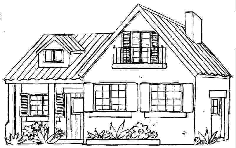 casa de campo para colorear hermosa casa en las montañas para pintar y colorear casa de campo para colorear