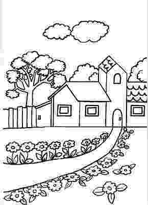 casa de campo para colorear nuevas lÁminas didÁcticas dibujos para imprimir y para casa de colorear campo