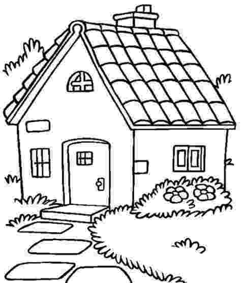 casa de campo para colorear resultado de imagen para campo y la ciudad preescolar para de casa colorear para campo
