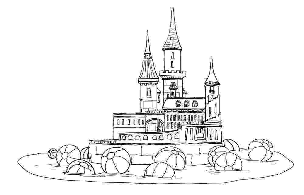 castles to draw drawing prompt castles bobbledy books castles to draw