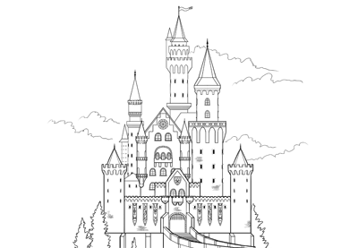castles to draw how to draw a castle castles to draw