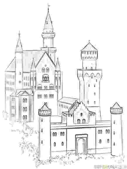 castles to draw how to draw the neuschwanstein castle step by step draw castles to