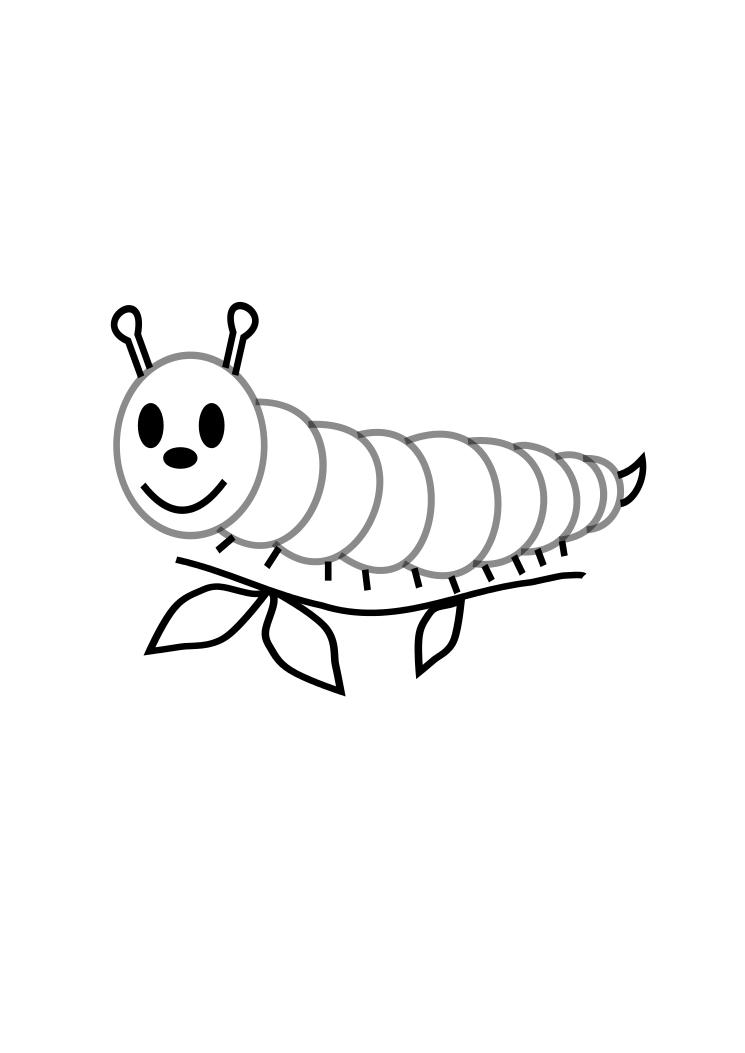 caterpillar for coloring free printable caterpillar coloring pages for kids caterpillar coloring for