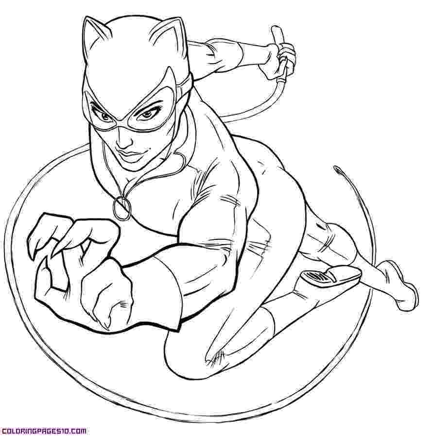 catwoman printable coloring pages coloring catwoman coloring pictures for kids catwoman pages printable coloring