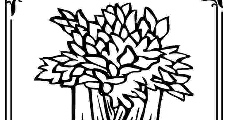 celery coloring page celery coloring book pages realistic coloring pages page celery coloring