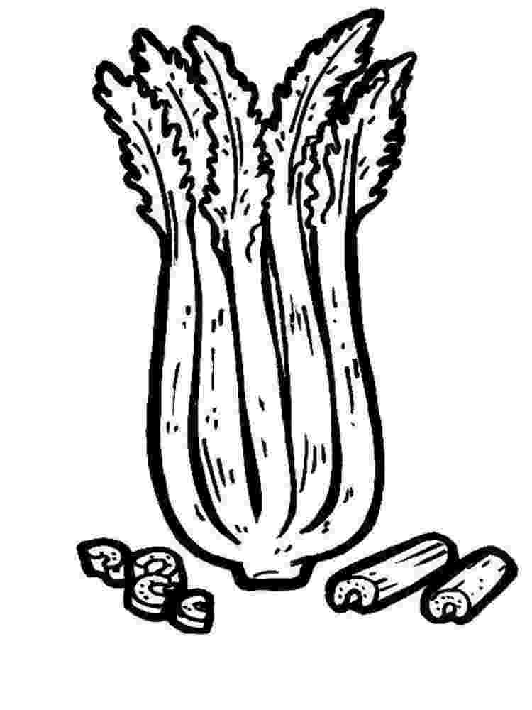 celery coloring page celery coloring pages download and print celery coloring page coloring celery