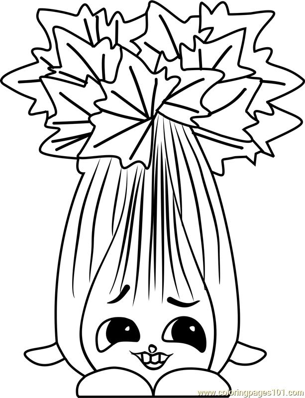 celery coloring page super celery shopkins coloring page free shopkins coloring celery page