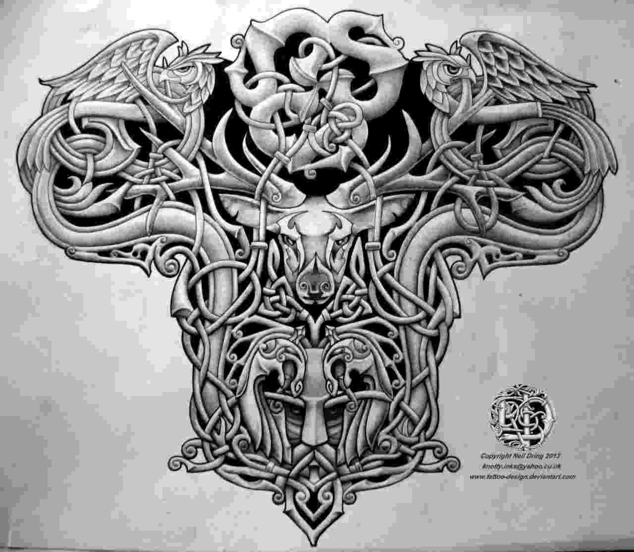 celtic art celtic warrior men tattoo design tattoo lawas art celtic