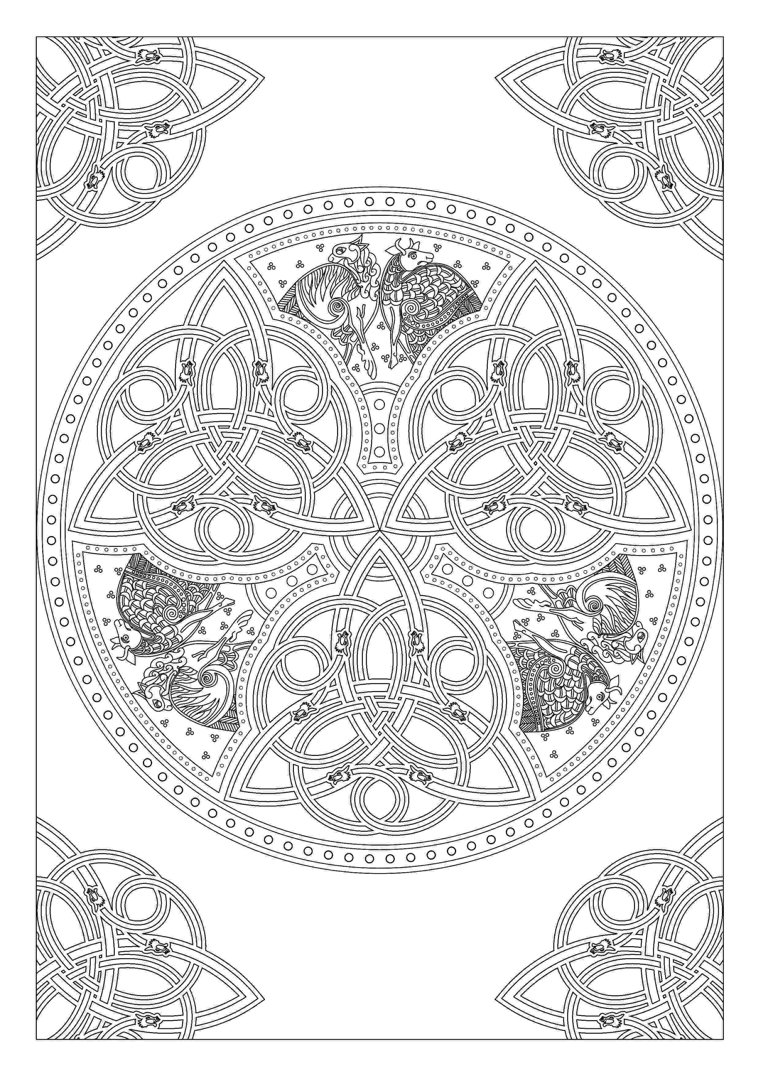 celtic art collection 2 drakkar by fibaczdeviantartcom on celtic art