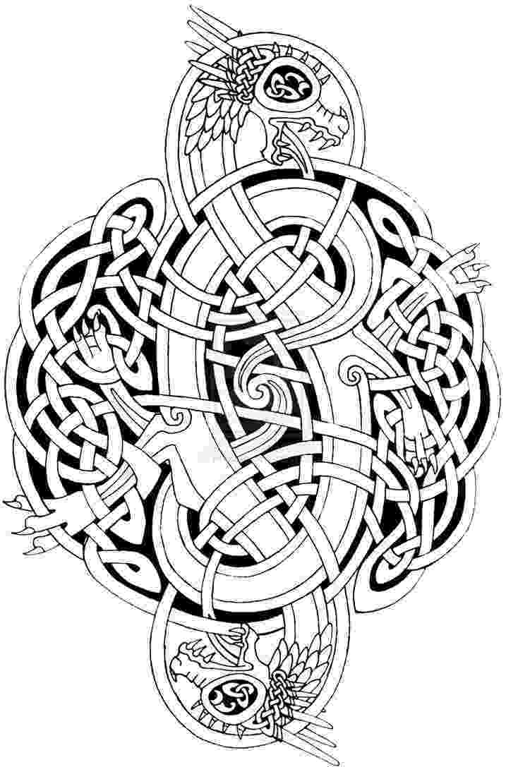 celtic art free art therapy download de stress with a selection of celtic art