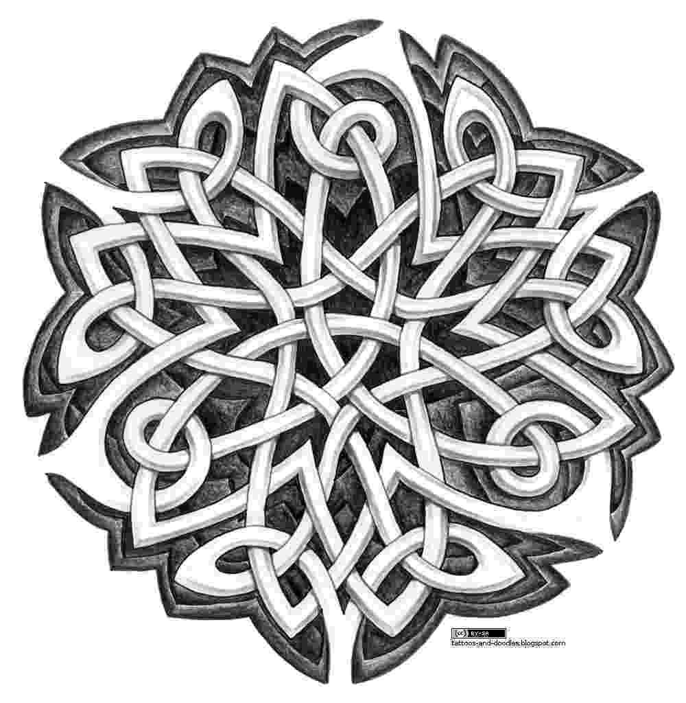 celtic art tattoos and doodles february 2011 art celtic