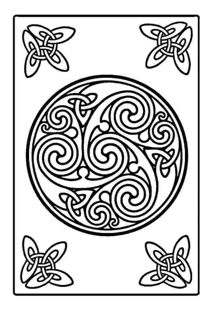 celtic coloring 115 best images about celtic patterns on pinterest coloring celtic