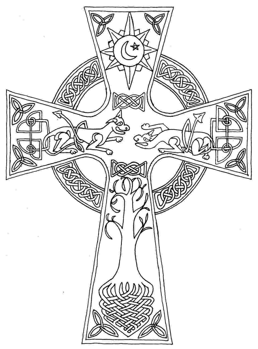 celtic coloring celtic cross by pktmerlin85 on deviantart celtic coloring