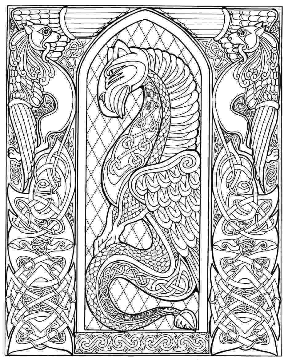 celtic coloring embellishing and colouring celtic design karen gillmore art celtic coloring