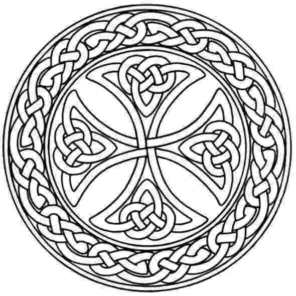 celtic coloring mandala monday free celtic mandalas to color celtic coloring